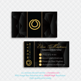 Personalized Monat Business Cards, Monat Hair Care Cards MN37 - ToboArt