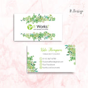 It Work Business Cards, Personalized It Work Business Card IW07