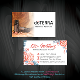 Doterra Business Cards, Personalzied Doterra Essential Oils Card DT66