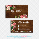 Doterra Business Cards, Personalzied Doterra Essential Oils Card DT84
