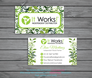 Personalized It Works Business Cards, Custom It Works Cards IW03