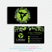 It Works Business Cards, Personalized It Works Business Card IW09