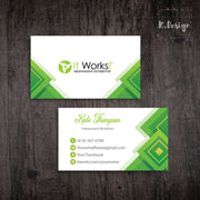 Personalized It Work Business Cards, Custom It Work Business IW03