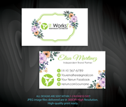 Custom It Work Business, Personalized It Work Business Cards IW04