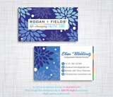 Rodan & Fields Business Cards, Personalized Rodan & Fields Cards RF90