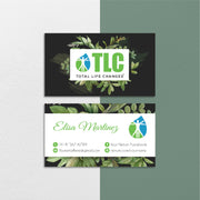 Vintage Modern TLC Business Cards, Vintage Personalized TLC Hair Care Cards TLC03