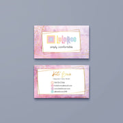 Personalized Lularoe Business Cards, Watercolor Lularoe Template Design LLR6