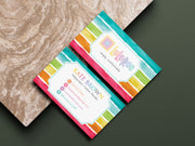 Personalized Lularoe Business Cards, Watercolor Lularoe Template Design LLR1