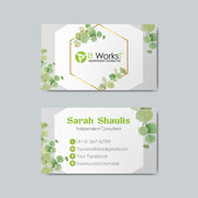 Printable It Work Business Cards, It Work Business Cards IW05