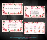 COLOR STREET BUSINESS CARDS, PERSONALIZED COLOR STREET APPLICATION CARDS, CL81