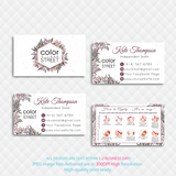 PERSONALIZED COLOR STREET BUSINESS CARDS, COLOR STREET APPLICATION CARDS, CL141 - ToboArt