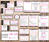 Color Street Marketing Bundle, Personalized Color Street Cards CL68 - ToboArt