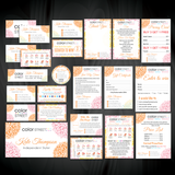 Color Street Marketing Bundle, Personalized Color Street Cards CL135 - ToboArt