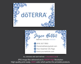 Doterra Business Cards, Personalzied Doterra Essential Oils Card DT11