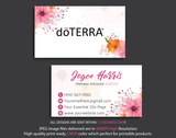 Doterra Business Cards, Personalzied Doterra Essential Oils Card DT13