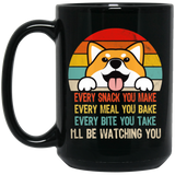 Retro Shiba Inu Every Snack You Make Every Meal