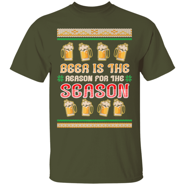 Beer Is The Reason For The Season Ugly Christmas