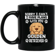 Sorry I Have Plans With My Golden Retriever