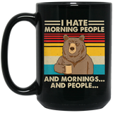I Hate Morning People And Mornings And People