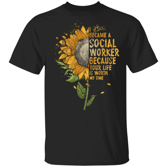 Sun Flowers, I Became A Social Worker