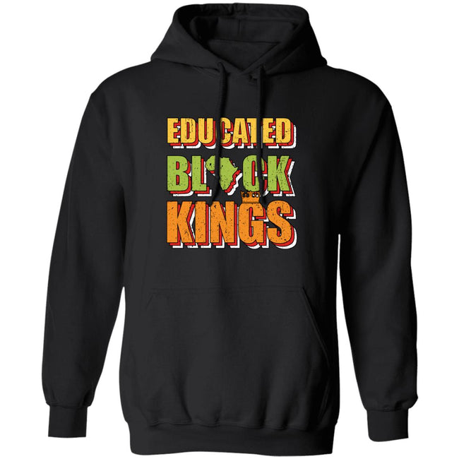 Educated Black King Gift African American Pride Men Collections