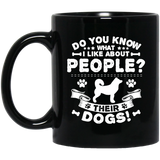 Dog Groomer Dog Grooming Dogs Gift Present Black Mug