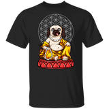 Pug Yoga Meditation Buddha Dog