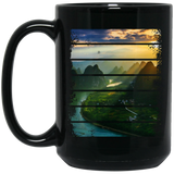 Lost in the Wilds Black Mug