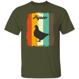 Pigeon Retro 70s Vintage Bird Lover