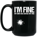 Funny Oil - I'm Fine My Wife - Essential Oils
