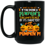 Funny Halloween, Math Teacher Pumpkin Pi Fun Gift