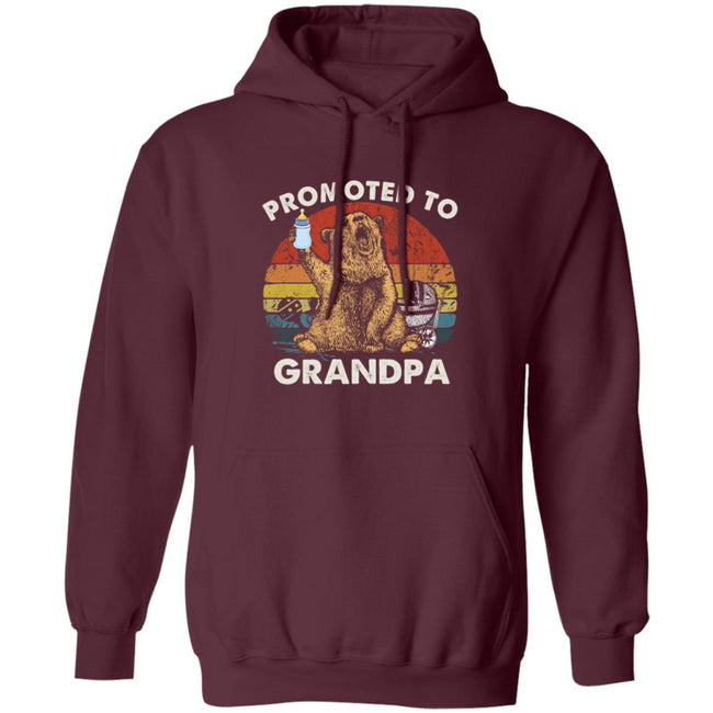 Vintage Promoted To Grandpa Bear Men Collections