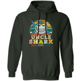 Retro Vintage Uncle Shark, Funny Birthday Gift