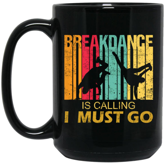 Breakdance Is Calling Funny Retro Vintage Gift