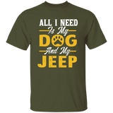 All I Need Is My Jeep And My Dog, Jeep Lover
