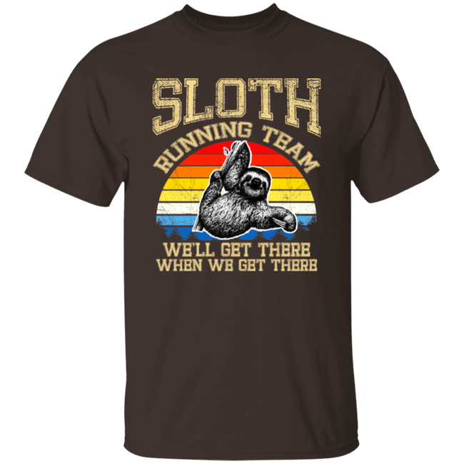 Vintage Sloth Running Team We'll Get There