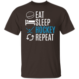Eat Sleep Hockey Repeat