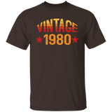 Vintage 1980, Perfect 38th Birthday Gift