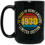 Vintage 1970, 50 Years, Funny 50th Birthday Gift