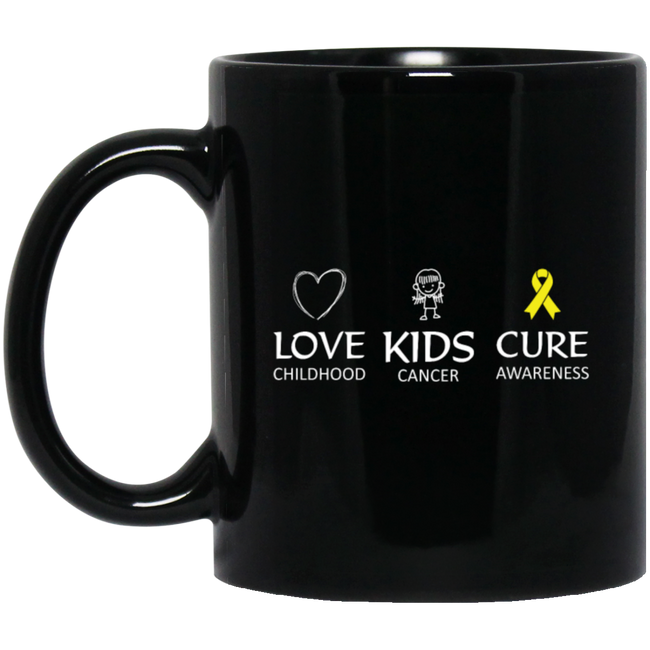 Love Childhood Kids Cancer Cure Awareness