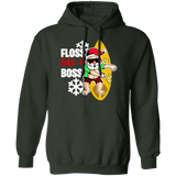 Santa Claus Surfing I Christmas Gift