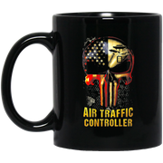 Best Gift IRISH Air Traffic Controller Black Mug