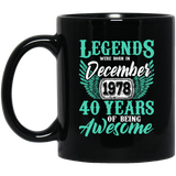 Legends December 1978 40 Years Of Being Awesome