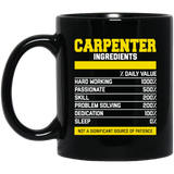 Fantastic Carpenter Ingredients