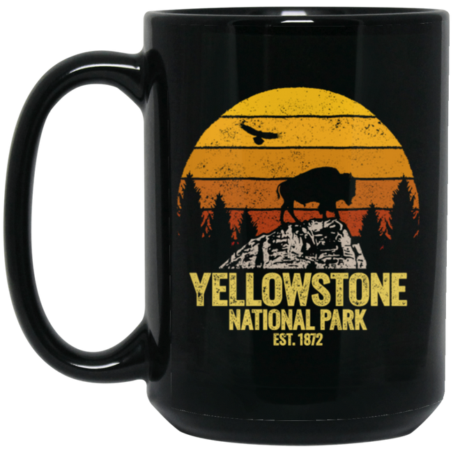 Retro Yellowstone National Park Vintage