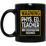 Physical Gift, PE Physical Education Teacher Perspiration