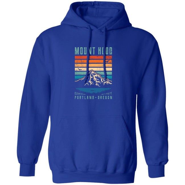 Hood Retro Sweater Portland Oregon, Mount Hood