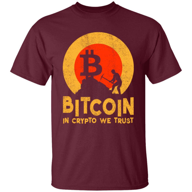 Bitcoin - Sunset - IN CRYPTO WE TRUST