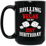 Las Vegas 21st Birthday Party Gift Gambler