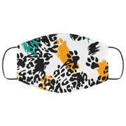 Leopard, Wild Animal 3 Layers Face Mask